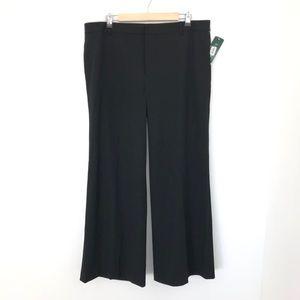 Lauren Ralph Lauren Wide Leg Career Pants NWT